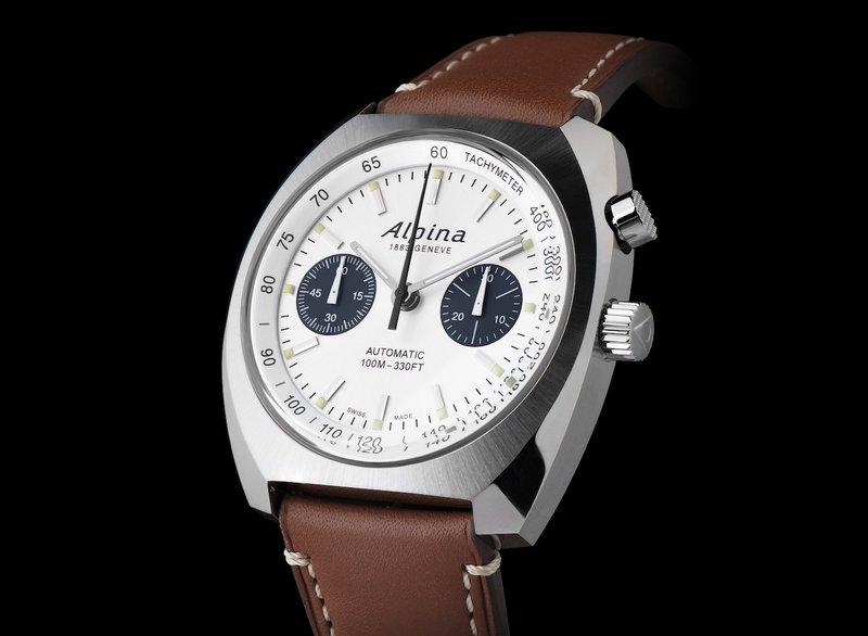 Alpina horloges: De Alpina Startimer Pilot Heritage Chronograph (Ref. AL-727SS4H6) - prijs € 2.895 euro