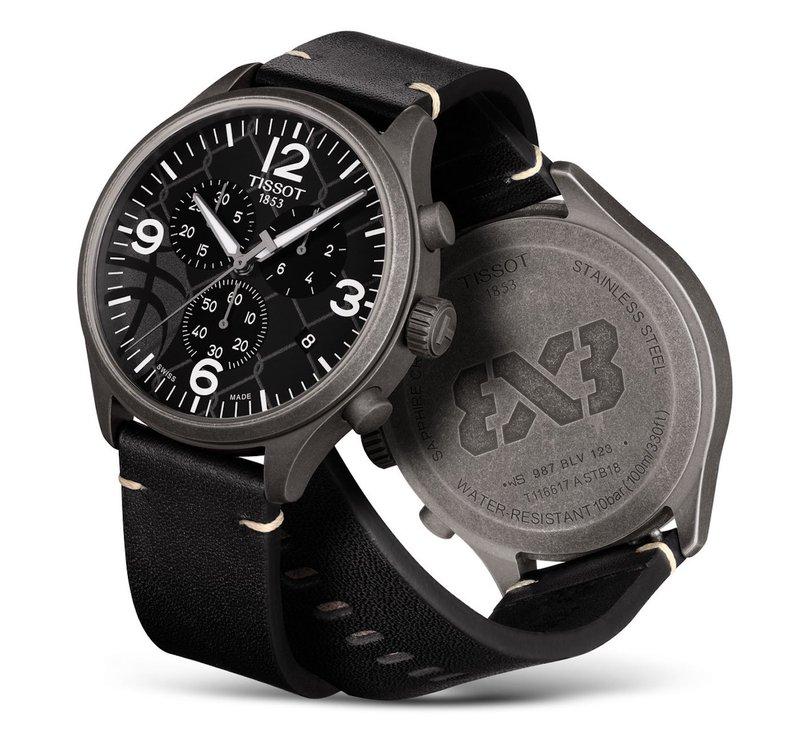 Tissot horloges: De nieuwe Tissot Chrono XL 3X3 Street Basketball - waterbestendig tot 100 meter