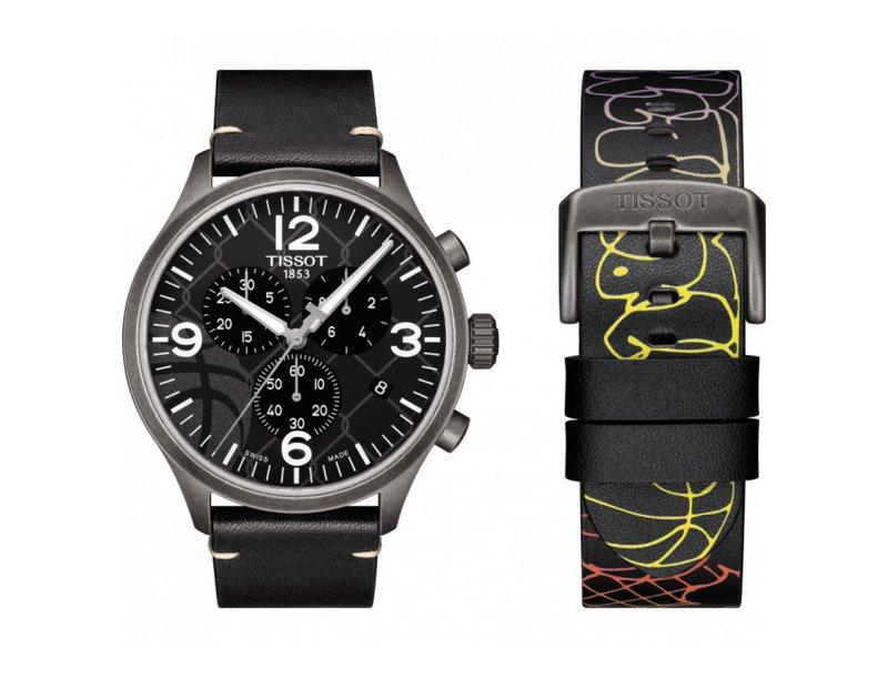 Tissot horloges: De nieuwe Tissot Chrono 3 x x Street Basketball editie - verkrijgbare in meerdere uitgaves