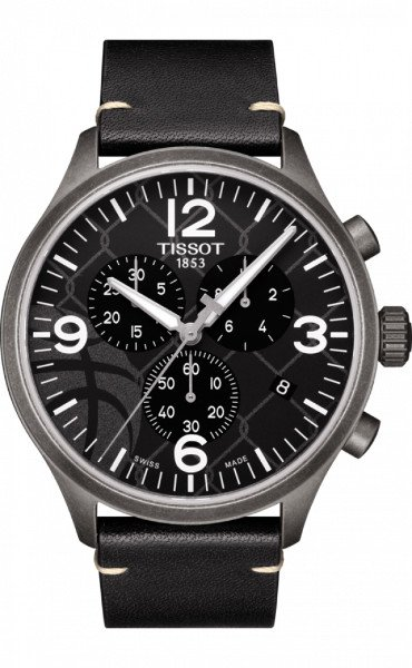 Tissot horloges: Tissot horloge Chrono 3x3 Street Basketball - Special Edition - € 369 euro