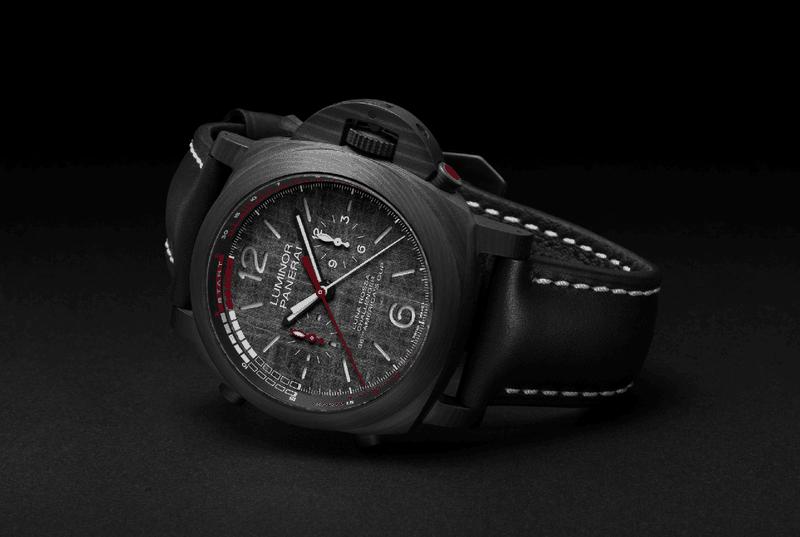 Panerai horloges: Panerai Luminor Panerai Luna Ross - met chronograaf én regattafunctie