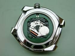 Quarz horloge met uurwerk