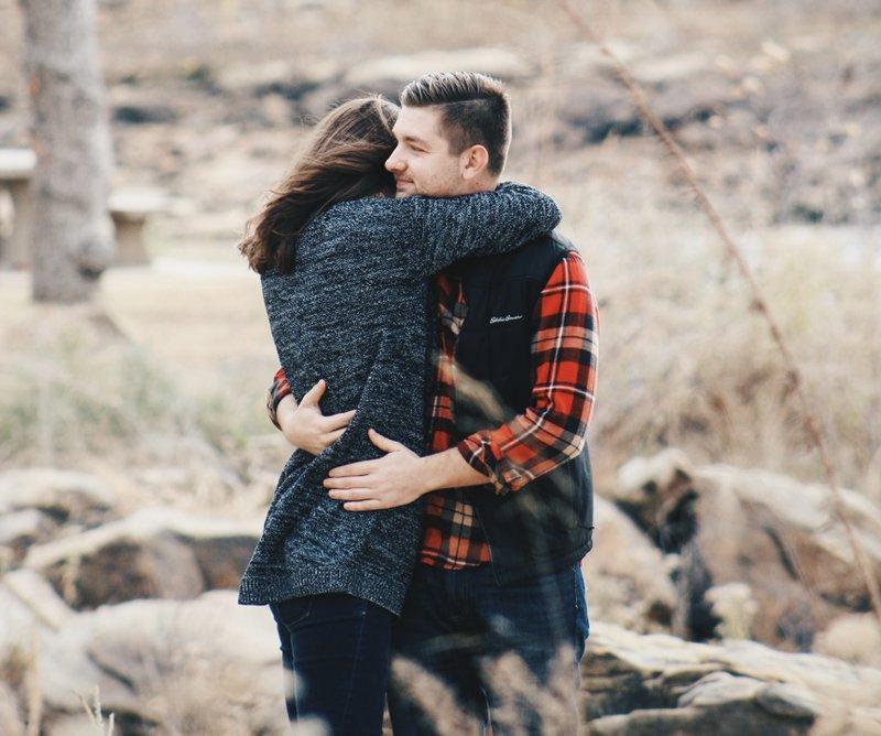 couple hugging after arguments - MichelleG Matchmaker Dating Coach Relationship Expert Online Dating Expert