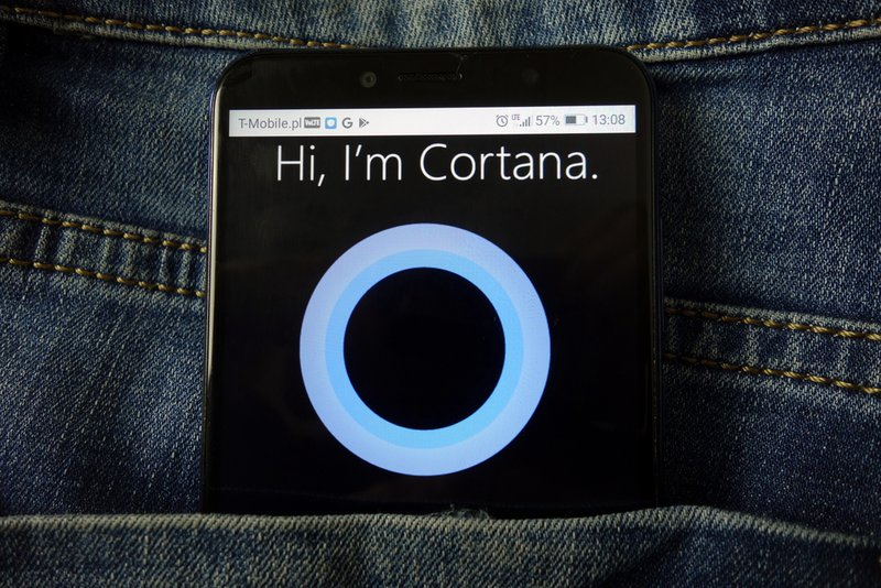 Voice search using Microsoft Cortana