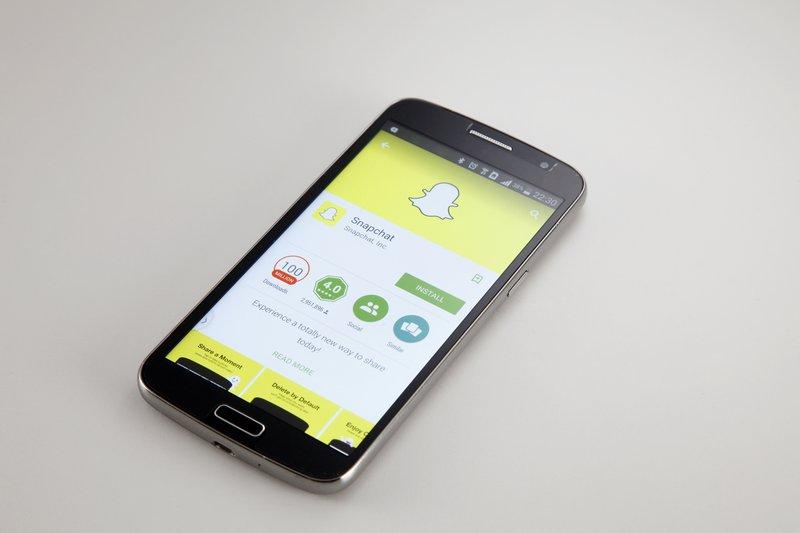 social media stories snapchat