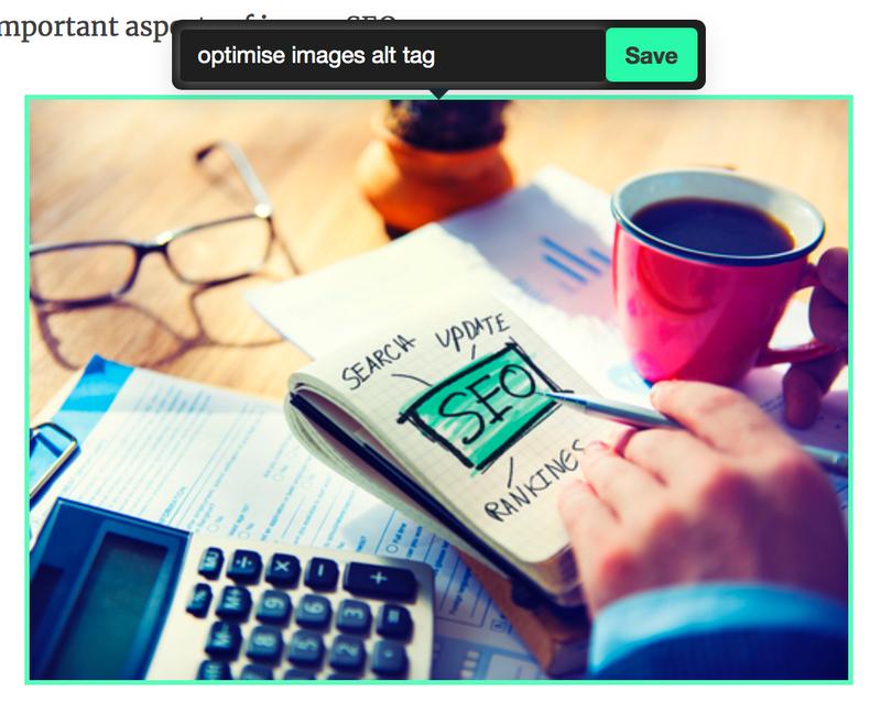 optimise images alt tag