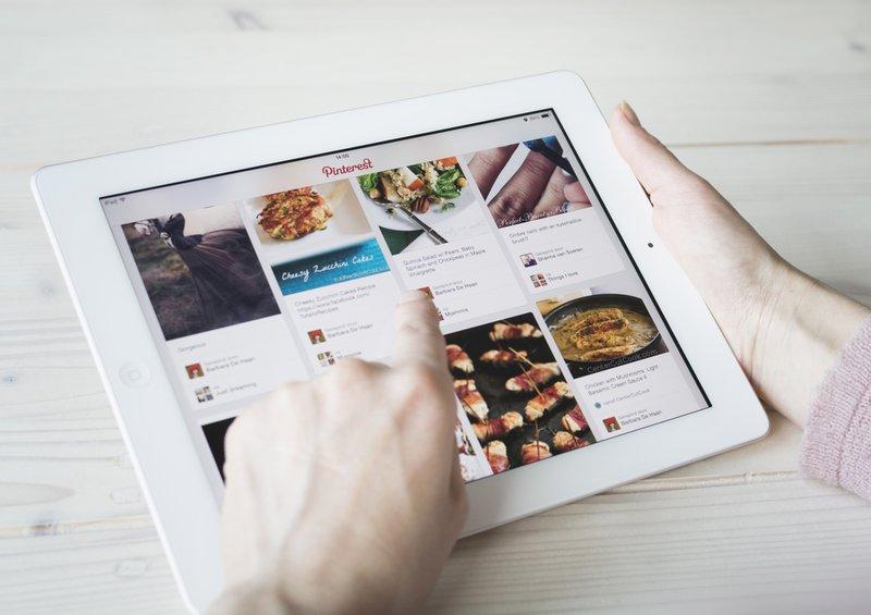 social media platforms - pinterest