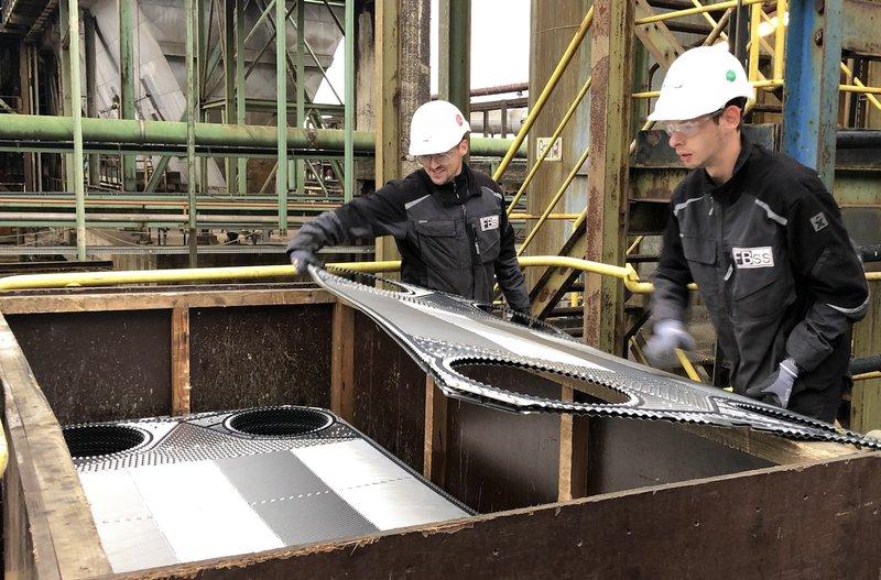 FBss revisie platenwarmtewisselaars - demontage/montage platen