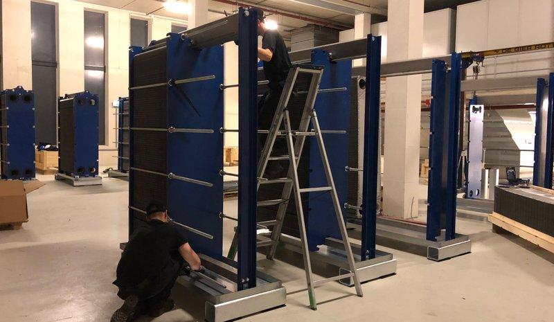 Samenbouwen SPX APV L080 platenwarmtewisselaar - FBss