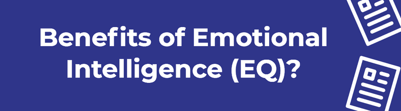 benefits of emotional intelligence