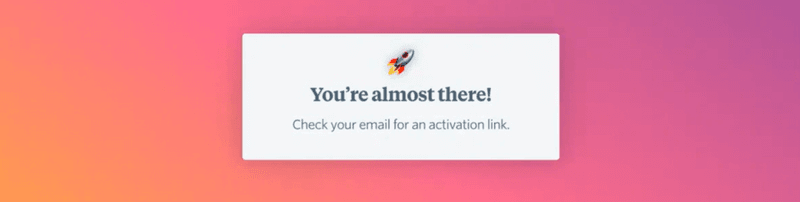 FullStory's redesigned onboarding sequence step 2