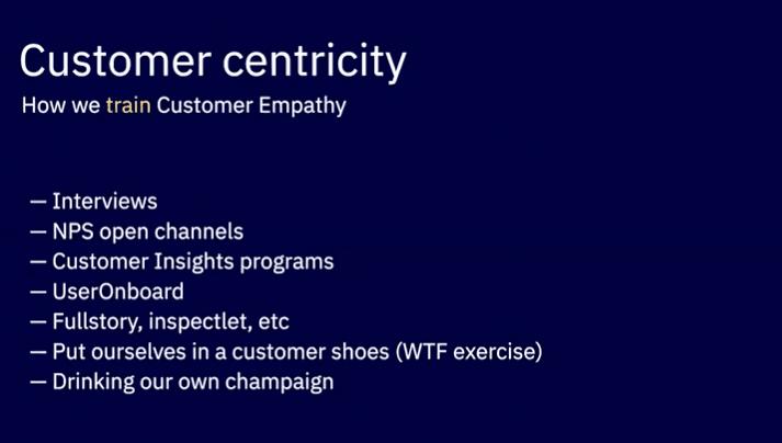 How we Train Customer Empathy