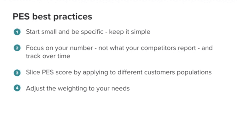 PES Best Practices
