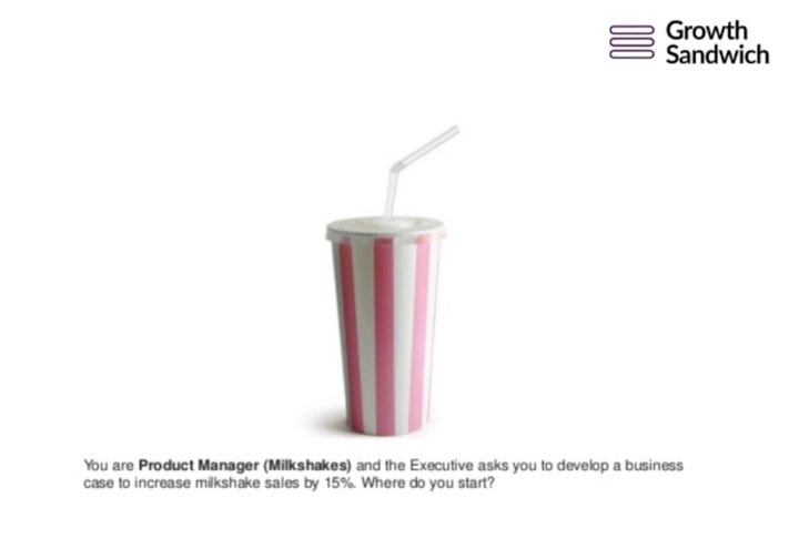Milkshake Brief - Product Manager Challenge