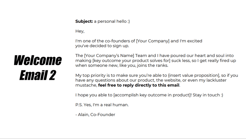 2nd Example Of Onboarding Email