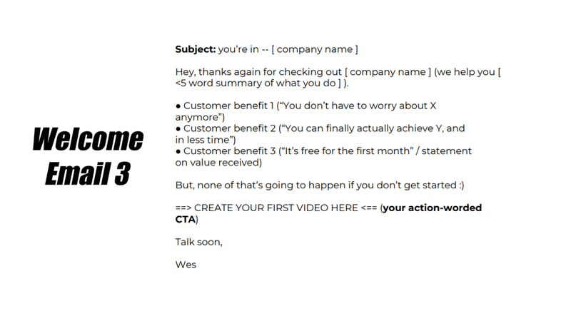 Welcome User Onboarding Email