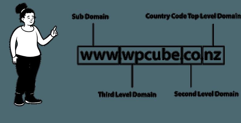 NZ domain name levels