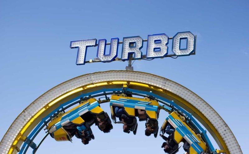 "The ""Turbo"" rollercoaster gaining momentum"