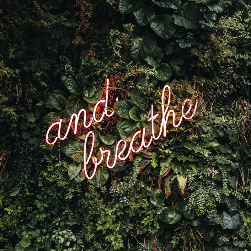 Breathing to reduce overwhelm