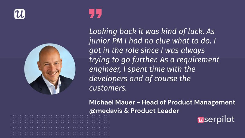 Michael how to become a product manager
