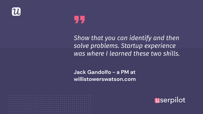 how to become a Product Manager Jack