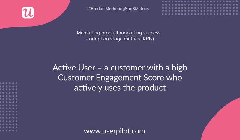 what is an active user in saas