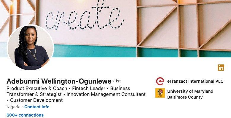 Product Management Linkedin Profile