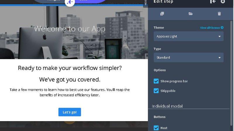 Best product walkthrough tools: Appcues