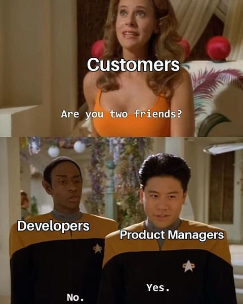 customers vs. product managers