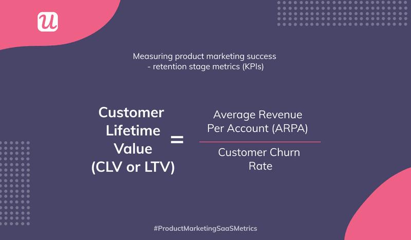 customer lifetime value  user retention metrics