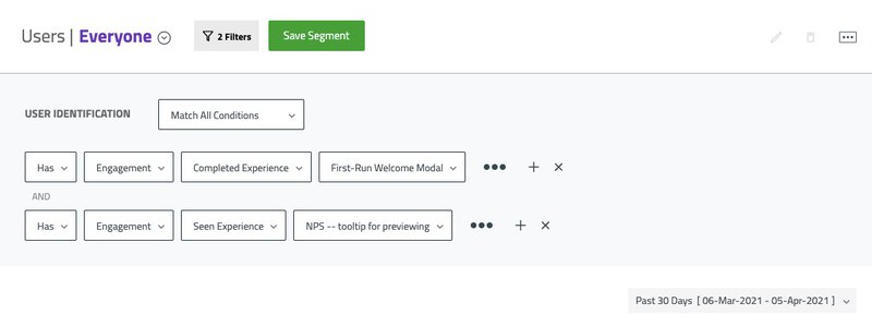 user engagement metrics onboarding completion