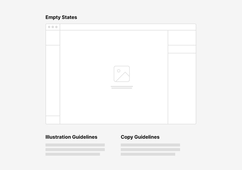 empty state example