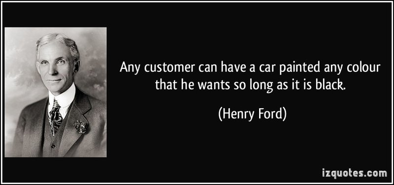 Product positioning strategies henry ford