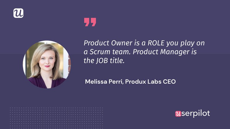 Melissa Peri Product Owner
