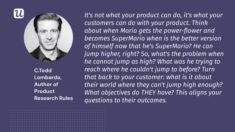 product research rules todd lombardo