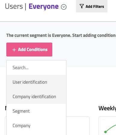 userpilot company segment