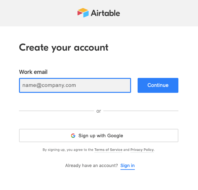 Best App Onboarding (Airtable 2)