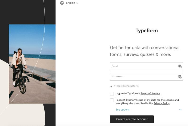 Best App Onboarding (Typeform 2)