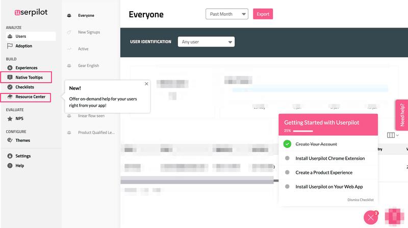 Userpilot features