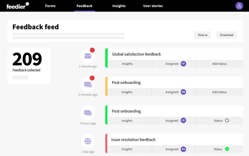 feedier product feedback tool