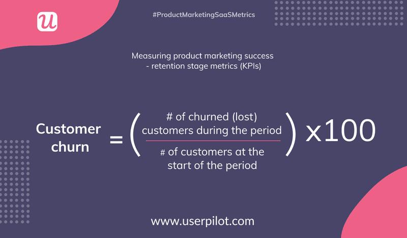 customer churn calculation