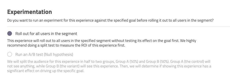 userpilot a/b testing
