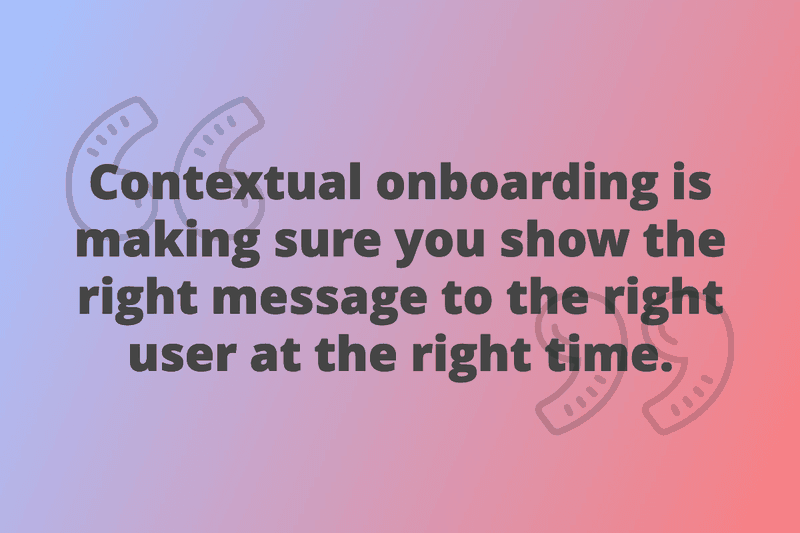 contextual onboarding definition