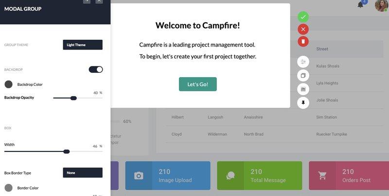 Userpilot - welcome screen