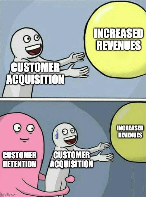 customer retention meme