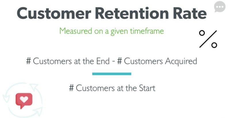 customer retention calculation