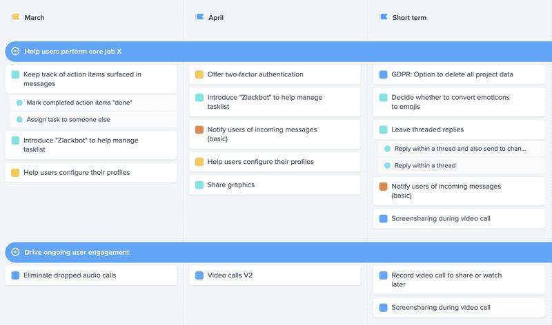productboard screenshot