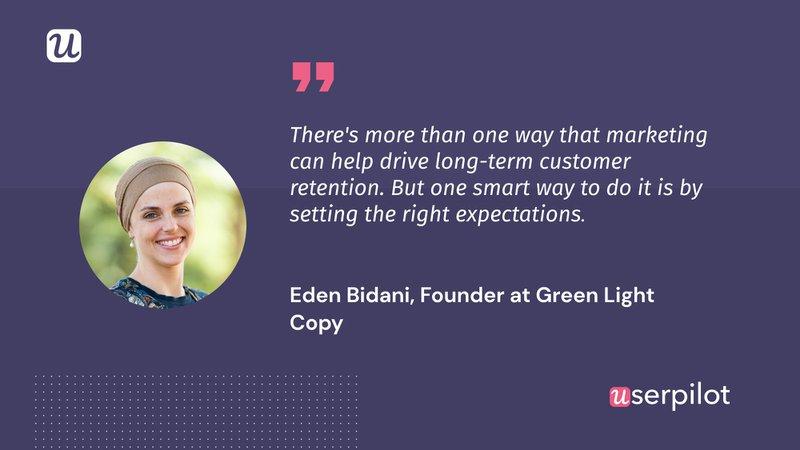 Eden Bidani customer retention