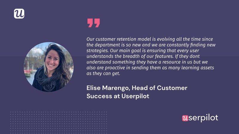 customer success at userpilot