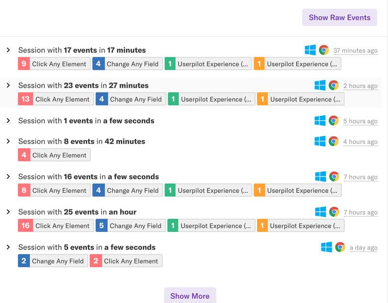 heap user behaviour analytics tool